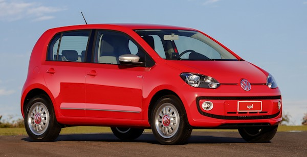 O novo Volkswagen up!